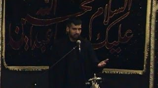 preview picture of video 'Zakir Tauqeer Ul Hassan of London | 3rd Muharram 1435/2013 | East Ham, London (UK)'
