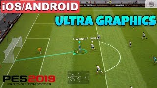 PRO EVOLUTION SOCCER 2019 - ANDROID / iOS GAMEPLAY ( PES 2019 )