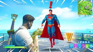 New SUPERMAN BOSS in Fortnite Update!