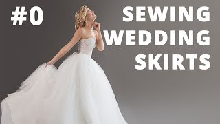 Sewing Wedding Skirts And Petticoats. DIY.