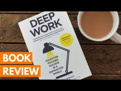 BOOK REVIEW: Deep Work by Cal Newport | Roseanna Sunley Business Book Reviews