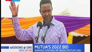 Governor Alfred Mutua receives 2022 presidential bid boost from Bureti MP Japheth Mutai