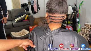How To Pre Part Small Knotless Box Braids