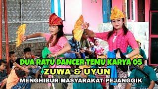 Gambar cover Dua ratu dancer Temu karya 05 menggoyang bajang pejanggik lombok tengah
