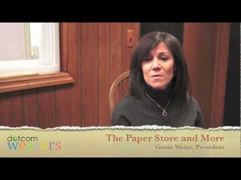 The Paper Store and More - Testimonial for NJ Web Design company