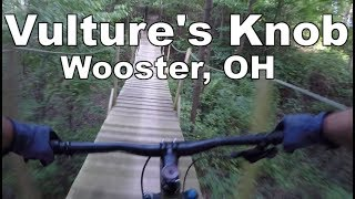 Highlights of a summer ride through Vulture's Knob.