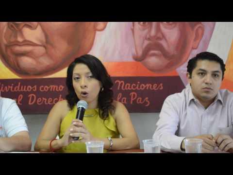 Esthela Damián Peralta acude a Contralor General y conocer acciones