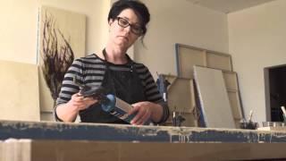 Encaustic Painting Process: Studio Visit With Alicia Tormey