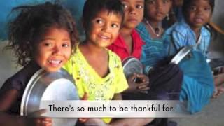 Josh Groban, Thankful (with Lyrics), World Hunger Day