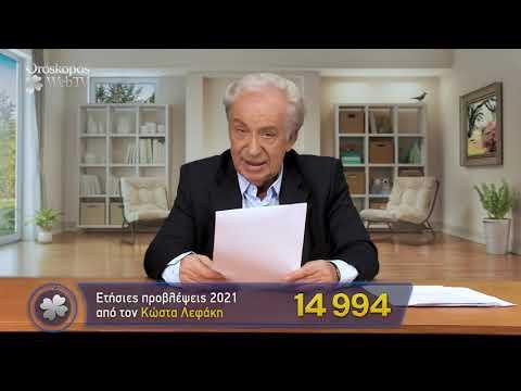 Ιχθύς 2021 Ετήσιες Προβλέψεις Κώστα Λεφάκη σε βίντεο