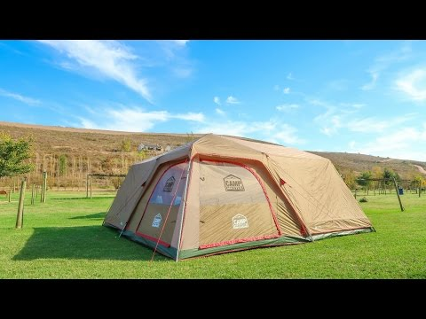 CAMP MASTER FAMILY CABIN 820 TENT REVIEW | South African Camping