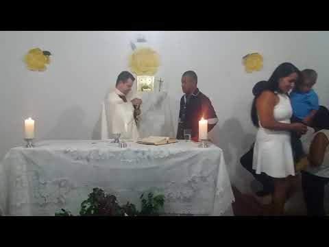Santa missa em Boa vista do bananal município de cristália mg!(20)