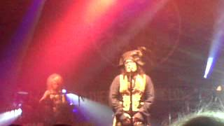 Adam Ant Shrink at Camden roundhouse 11th may 2013