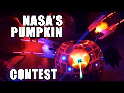 Jaw-Dropping Proof That NASA Rocket Scientists Carve The Best Pumpkins