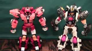 Biklonz Eclipse And Ghost Review (from Young Toys 바이클론즈 Taurus, Leo, Aries, Scorpio)