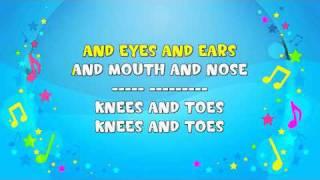 Head, Shoulders, Knees And Toes | Sing A Long | Action Song | Nursery Rhyme | KiddieOK