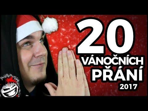 20 Vánočních přání 2017