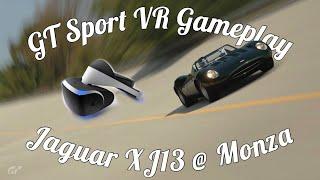 GT Sport VR Jaguar XJ13 @ Monza Gameplay!