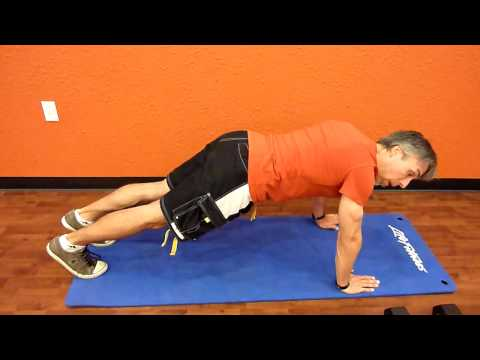 Static PushUp Hold