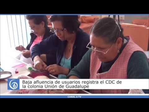 Baja afluencia de usuarios registra el CDC de la Col. Unión de Guadalupe