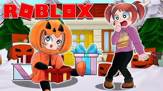 I Mixed Up Christmas With Halloween & Got Tons Of Presents! | Roblox Roleplay