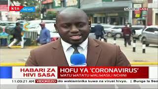 Mwanafunzi alazwa hospitalini Kenyatta kwa hofu ya kuambukizwa na coronavirus