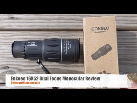 Enkeeo 16X52 Dual Focus Monocular Review