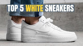 The 5 BEST White Sneakers For Men