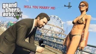 GTA 5 Real Life Mod #37 - PROPOSING TO MY GIRLFRIEND!! (GTA 5 Mods)
