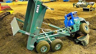 AMAZING RC CONSTRUCTION SITE WITH FASCINATING MODEL MACHINES IN ACTION
