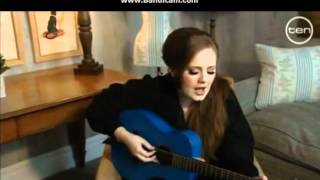Crazy for you - Adele - Faustina interview