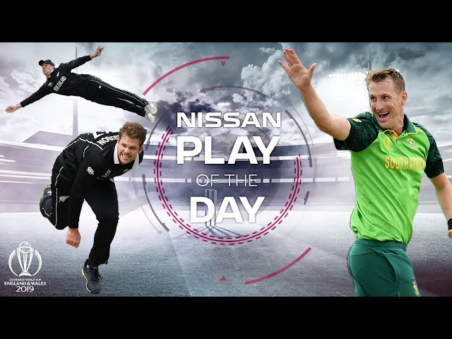 Nissan Play of the Day | New Zealand vs South Africa | ICC Cricket World Cup 2019