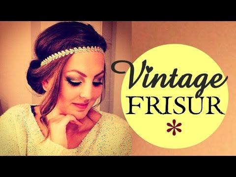 Vintage Frisur mit HAARBAND - schnell & einfach ♥