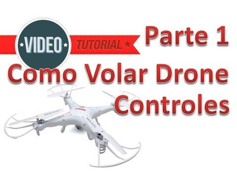 Como Volar Un Drone o Cuadricoptero Parte 1 Manejo de Controles