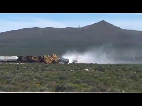ProgressVideo TV: Nevada train derailment causes interstate