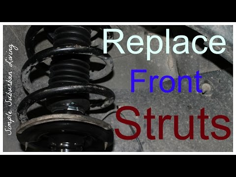 How To Install Front Struts - Chevy Traverse, GMC Acadia, Buick Enclave, Saturn Outlook Mp3