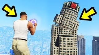 GTA 5 - Destroying Los Santos with SUPERPOWERS!!