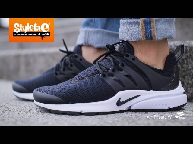 a24897dbea99b Nike Air Presto Women Sneaker black (On-Feet) @Stylefile 00:30 64,910