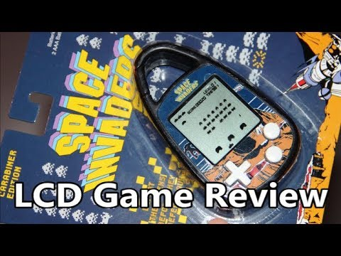 Space Invaders Carabiner Edition LCD Game Review – The No Swear Gamer