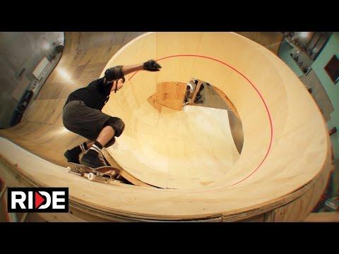 Tony Hawk Skates First Downward Spiral Loop - BTS