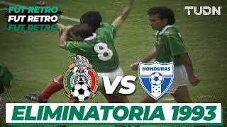 Fut Retro: ¡Goleada de México vs Honduras! | Hexagonal 1993 | TUDN