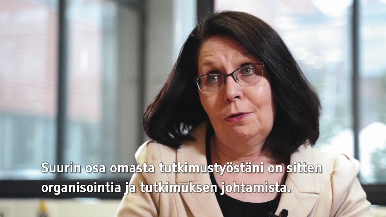 Professori Reetta Kälviäinen kertoo epilepsiatutkijan työstä.