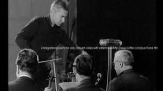 Karajan - Rehearsal of Schumann's 4th Symphony - Part 2