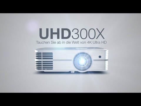 Optoma UHD300X (4K, 2200lm, UHP)