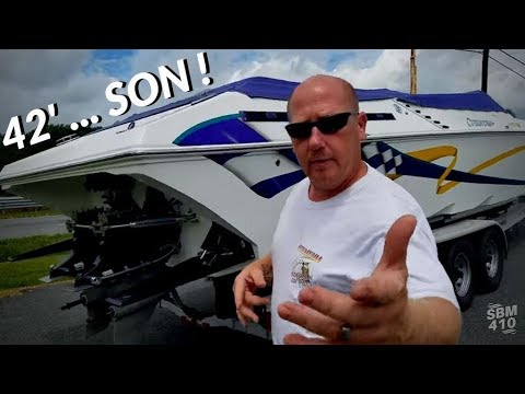E10 – FOUNTAIN POWERBOAT '08 42 FOOT ** ROADSIDE REVIEW & IT IS FOR SALE !!