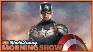 Chris Evans Out as Captain America - The Kinda Funny Morning Show 10.04.18