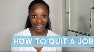 How to Quit a Job and Leave on Good Terms! Here's Why You Should Give Resignation & Vacation Notice