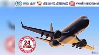 Pick the Matchless Air Ambulance in Ranchi at a Low Fare
