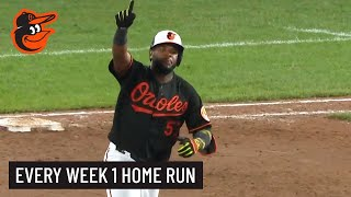Every Home Run From Week 1 | Baltimore Orioles