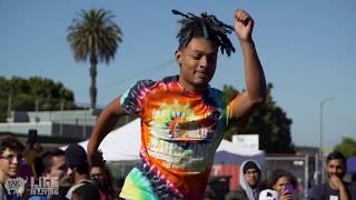 Zel (Turf Feinz) vs Phil of the Future at Life is Living Dance Battle | YAK FILMS